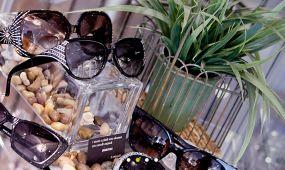 designer frames on display