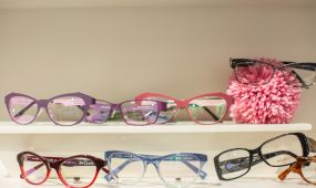 colourful retro frames