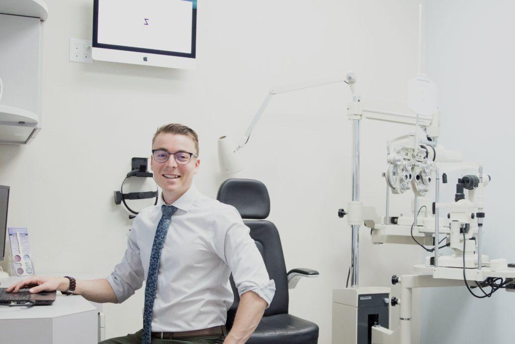 downtown optometrist dr danny walker